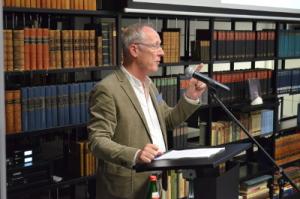Jörg Baberowski bei seinem Vortrag