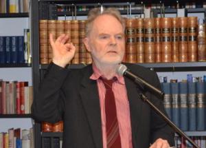 Jörg Friedrich im Vortrag