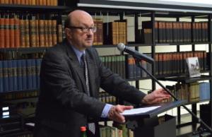 Hans-Christof Kraus bei seinem Vortrag über Bismarck